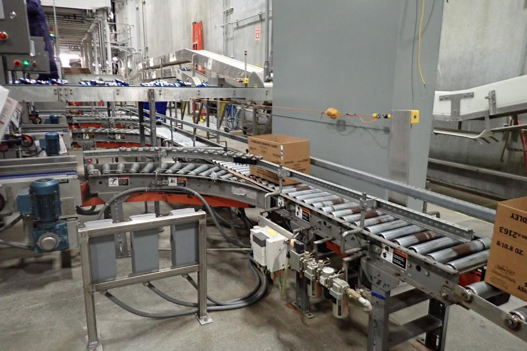 25-ft-power-roller-case-conveyor