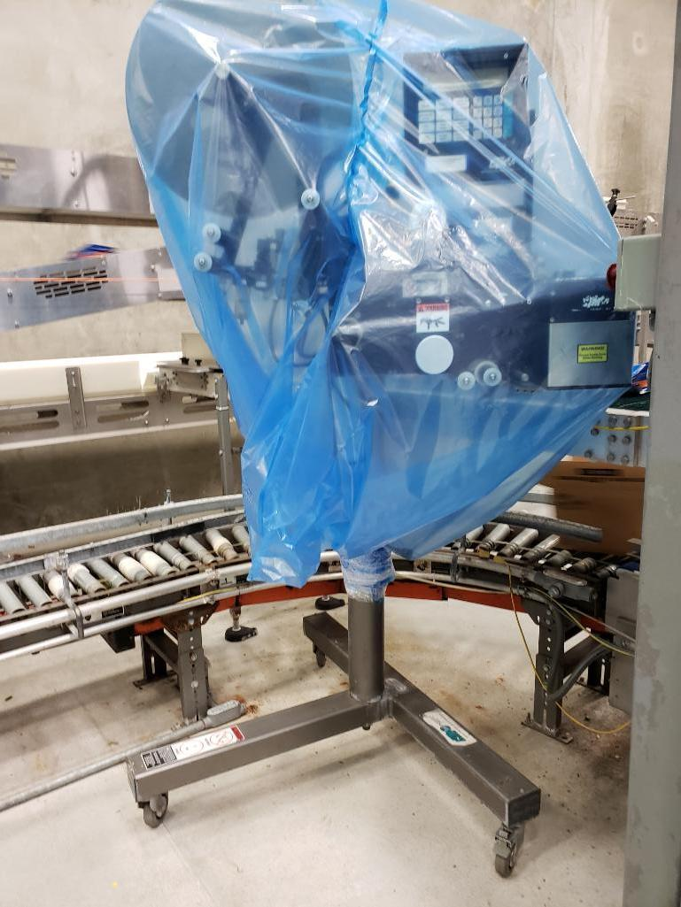 ctm-360-series-labeler-with-mild-steel-stand-on-casters