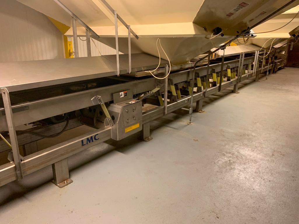 lmc-stainless-steel-vibratory-conveyor-52-ft-long-x-24-in-wide-x-8-in-tall-on-legs-30-in-off-g