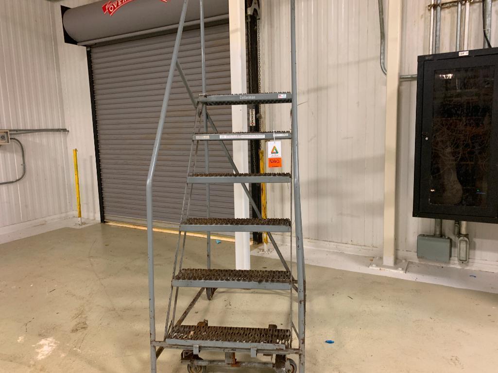cotterman-6-step-rolling-warehouse-ladder-model-m0317-450-lb-capacity
