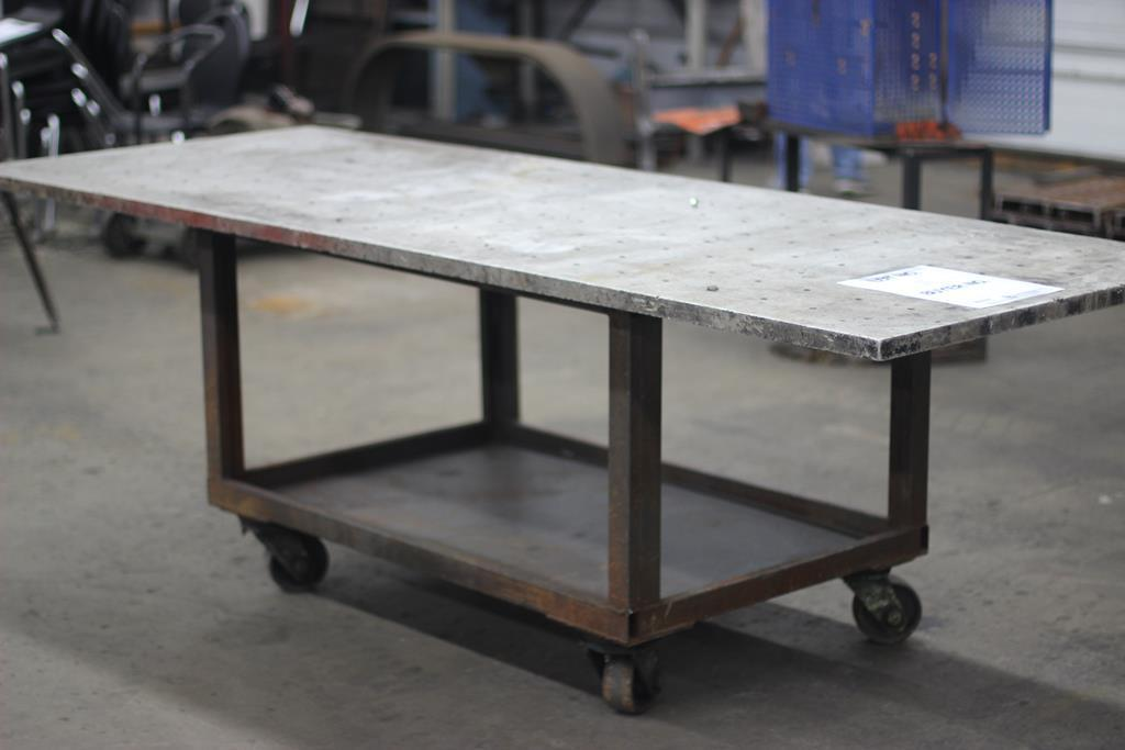 8-x-3-aluminum-top-rollaround-work-table-with-cast-iron-base