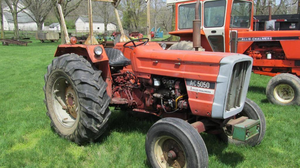 allis-chalmers-a-c-5050-diesel-tractor-with-6520-hours-will-not-stay-in-s