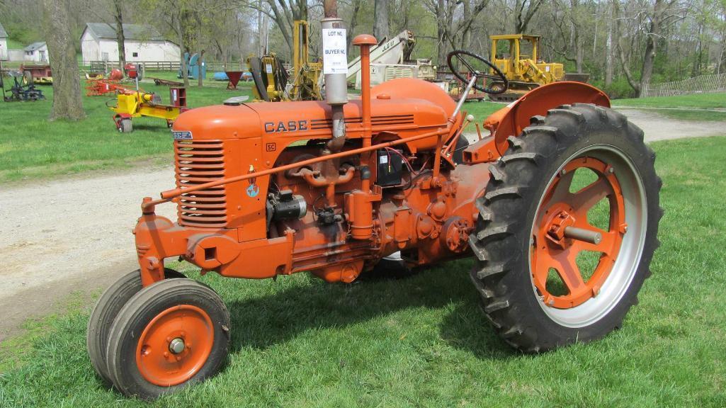1944-case-sc-gas-tractor-older-restoration-running
