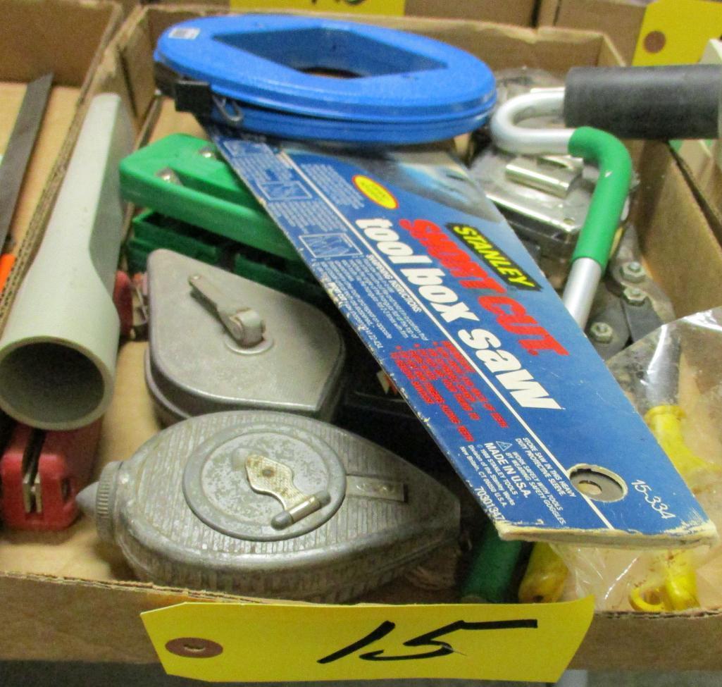 chalk-lines-cross-cut-saw-fish-tape-tape-measures