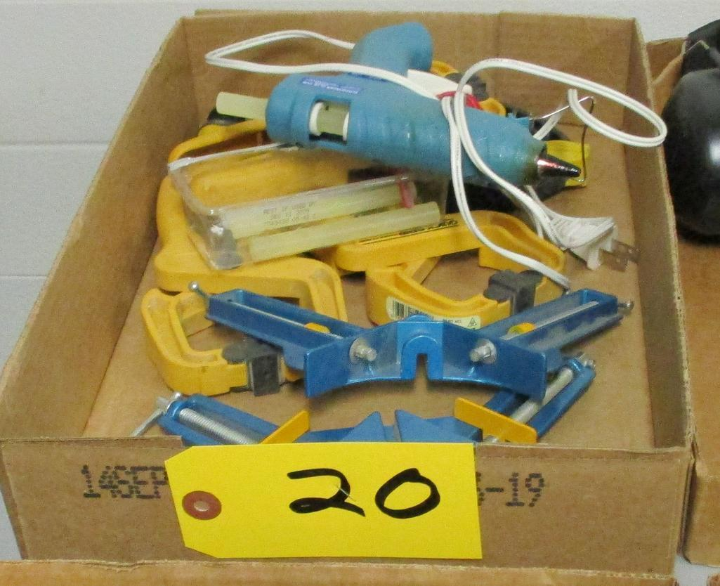 assorted-spring-clamps-glue-gun-angle-clamps