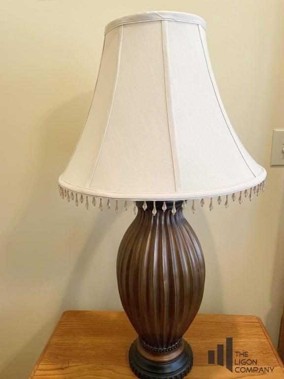 bronze-toned-table-lamp