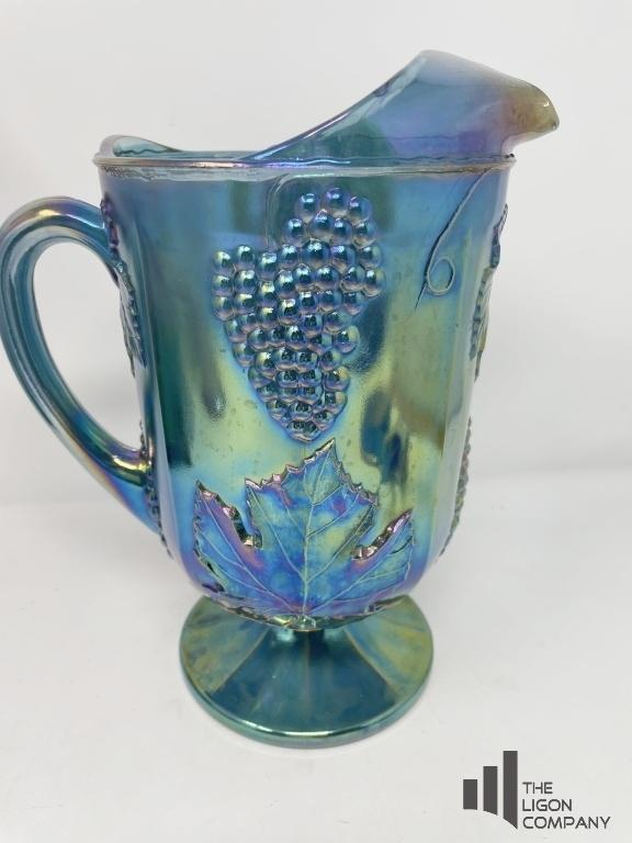 indiana-glass-carnival-water-pitcher