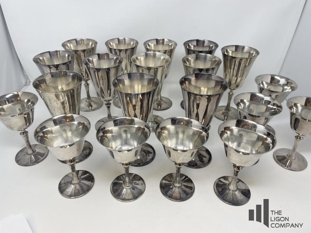 e-l-delberta-silverplated-goblets-and-cordials
