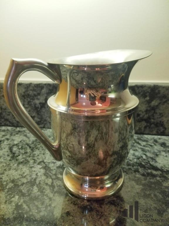 empire-pewter-pitcher-4-crystal-glasses