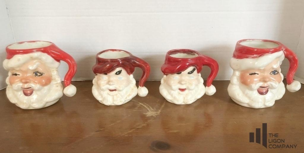vintage-ceramic-santa-mugs
