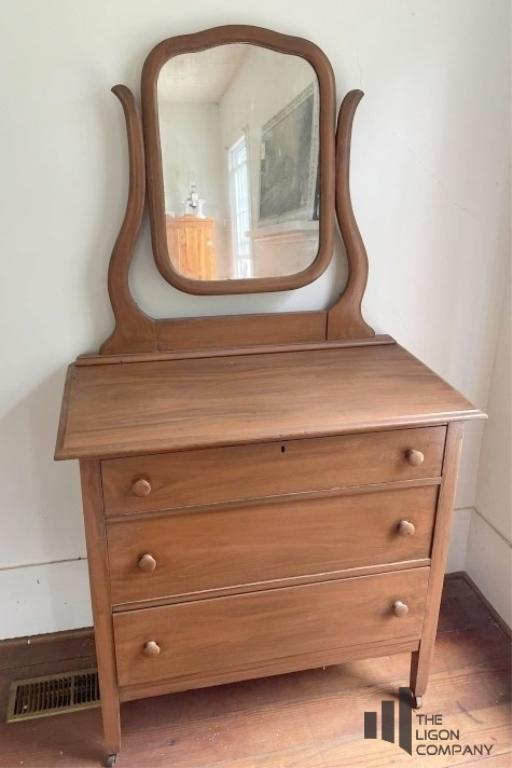 three-drawer-chest-with-mirror