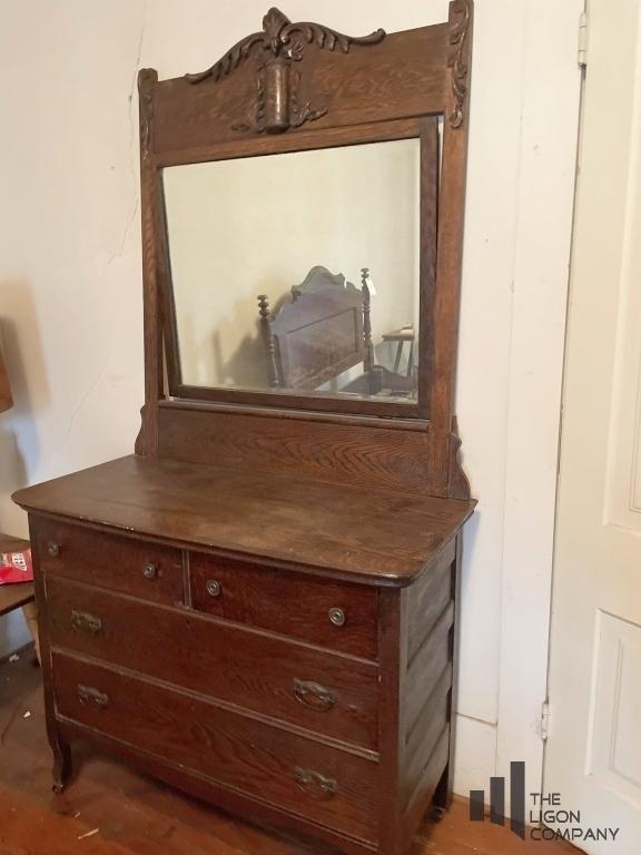 antique-dresser-with-mirror