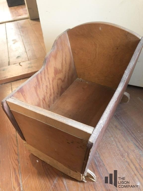 wooden-doll-cradle