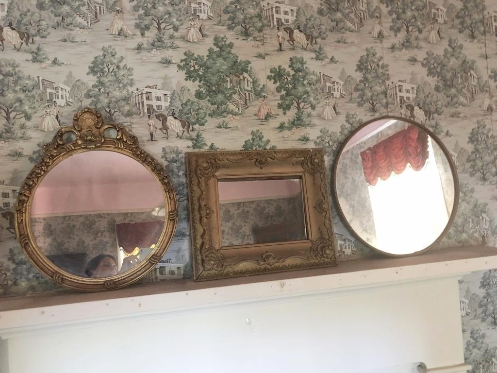 set-of-3-antique-gold-tone-mirrors